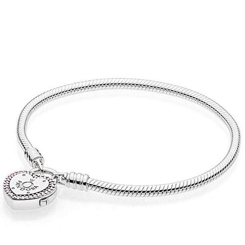 фотография браслет пандора с серебром
