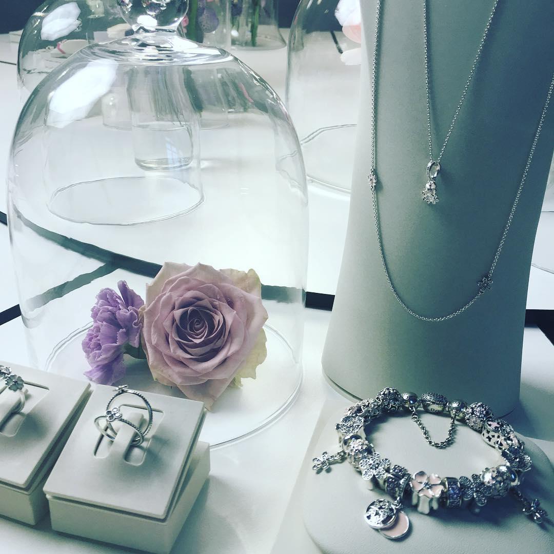 Pandora кольца-цветы презентация