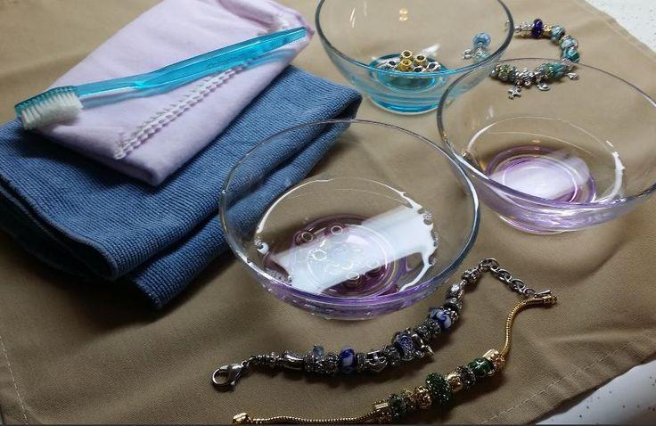 Как чистить серебро Pandora