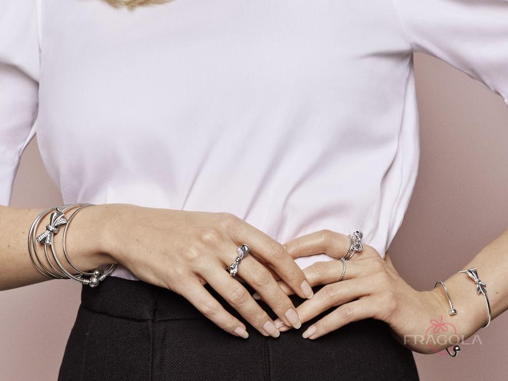 как носить кольца пандора