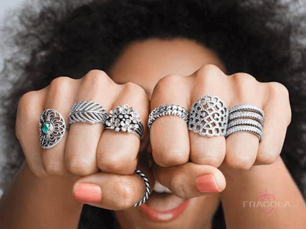 сколько стоит кольцо пандора
